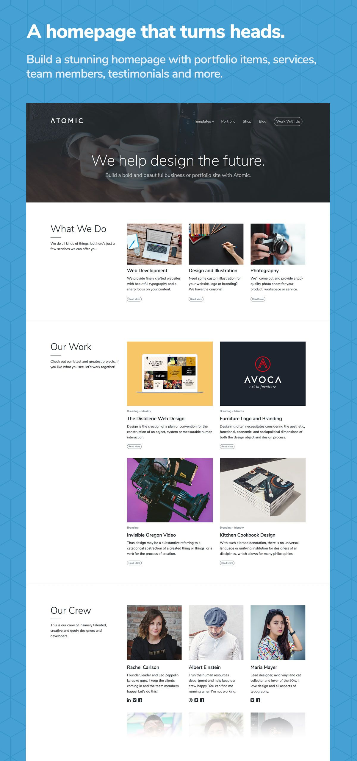 Download Atomic – Bold Business and Portfolio WordPress Theme ...