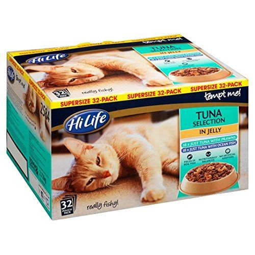 Hilife Tempt Me Tuna Selection 32 X 85g Food Animals Cat Food Chicken