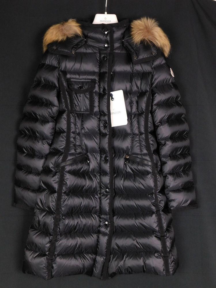 86ada0a42 NWT Moncler Hermifur Long Down Hooded Jacket Size 0  2150.00  438 ...