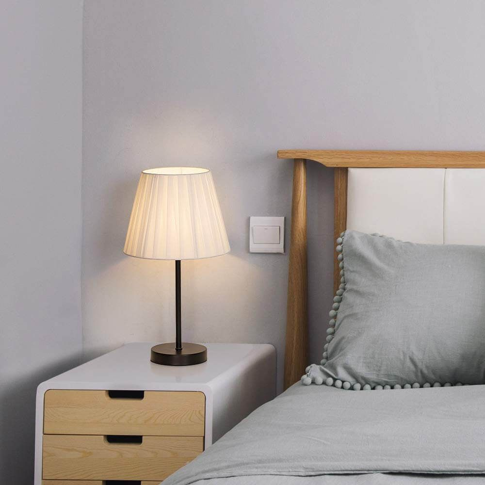 The 25 Best Bedside Table Lamps To Light Up Your Evenings Classic Table Lamp Bedside Table Lamps Bedroom Night Stands