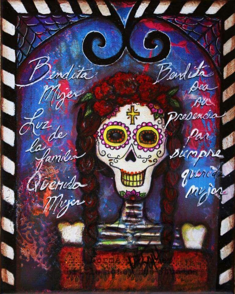Pin by MEXICANACAT on Dia De Los Muertos | Pinterest
