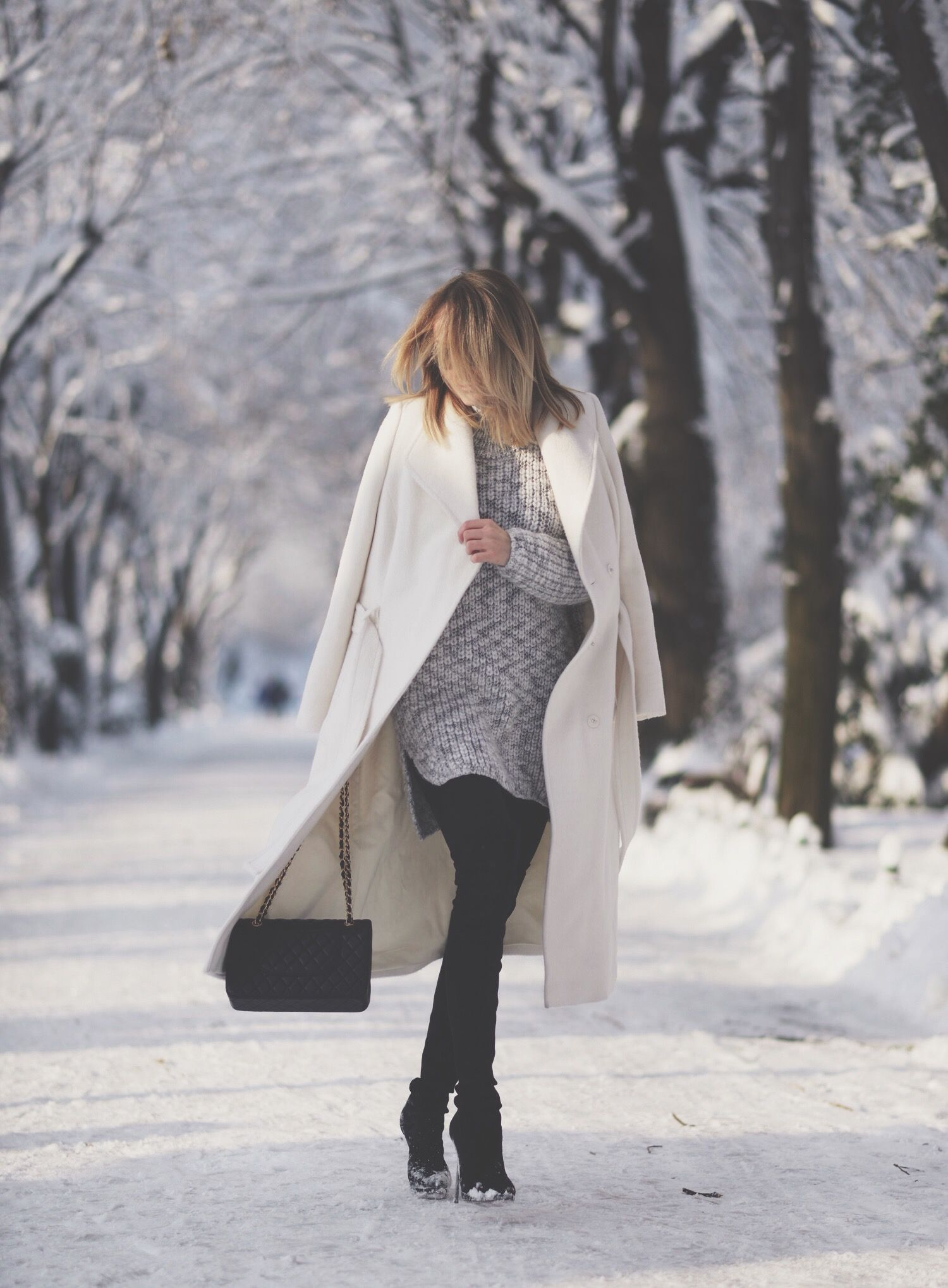 50+ Stylish Winter Outfits for Women 2016 | Zara black, Winter and ...