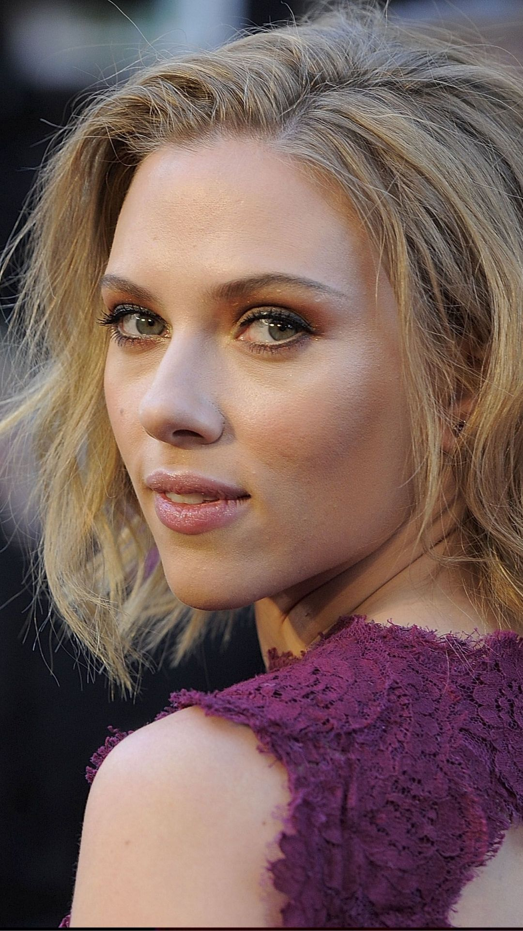 And what celebrity scarlett johansson really. And