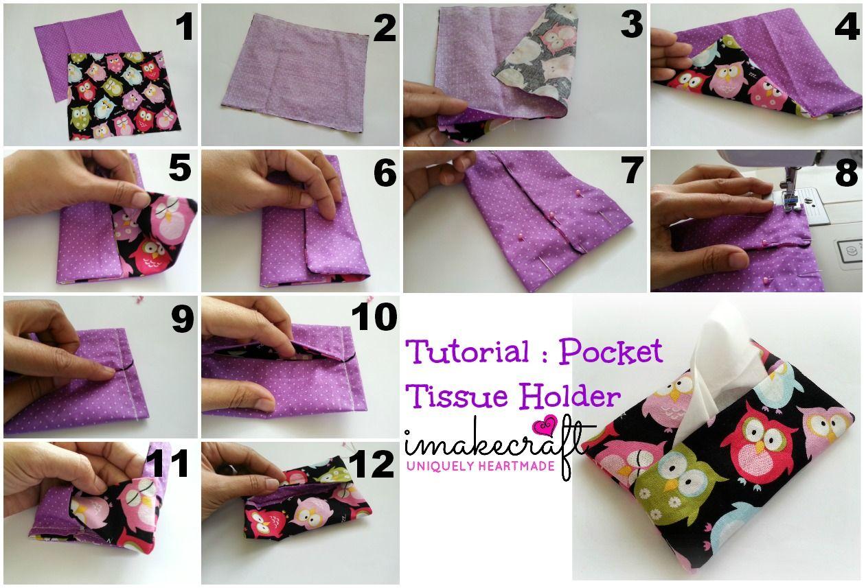 DIY/Tutorial : Pocket Tissue Holder