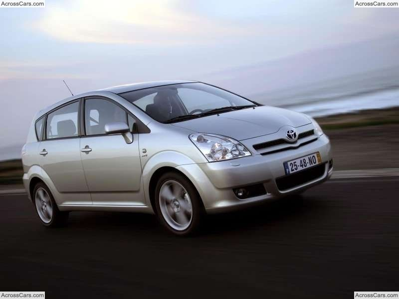 Toyota Corolla Verso Vvti 2004 Cars Pinterest Toyota And Cars