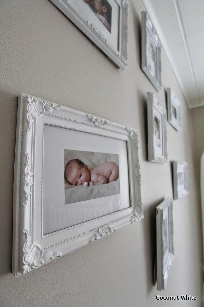 Coconut White: Nuoremman tytön huoneen valokuvaseinä ja uusi lelukori