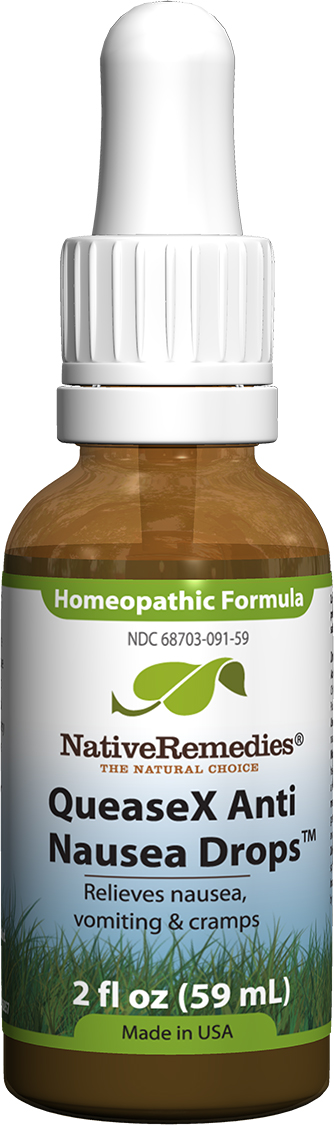 QueaseX Anti Nausea Drops™ Homeopathic remedy to