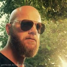 bald and beard Beard Mob