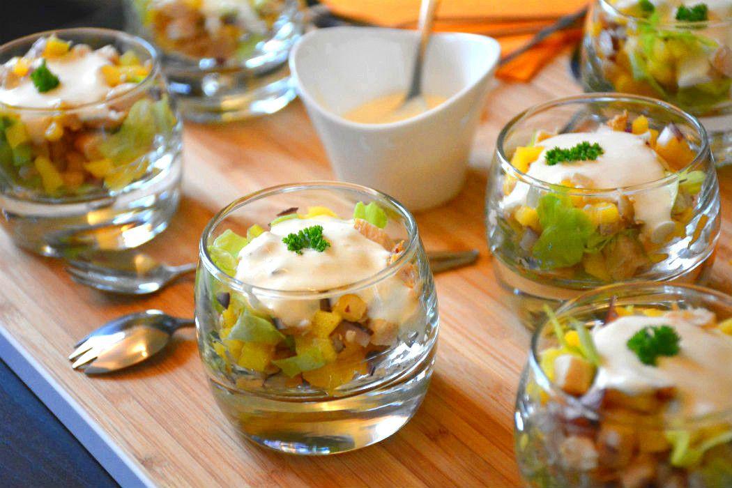 Spiksplinternieuw Hapje met kip en mango (met afbeeldingen)   Lekker eten, Eten HH-19