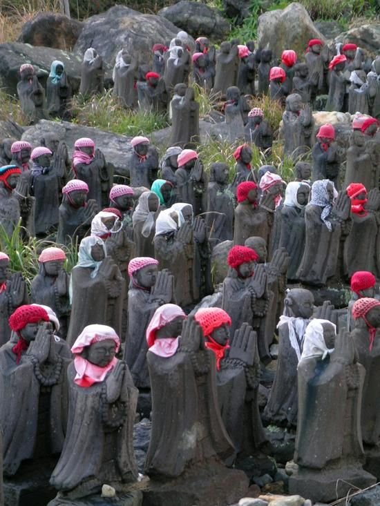 Jizo-statues