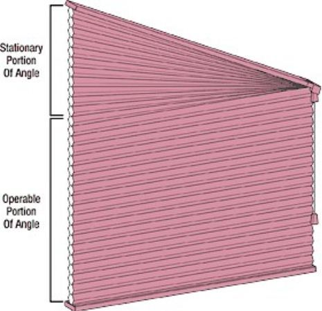 Blinds For Trapezoid Windows Blinds Com Window Coverings Triangle Window Windows