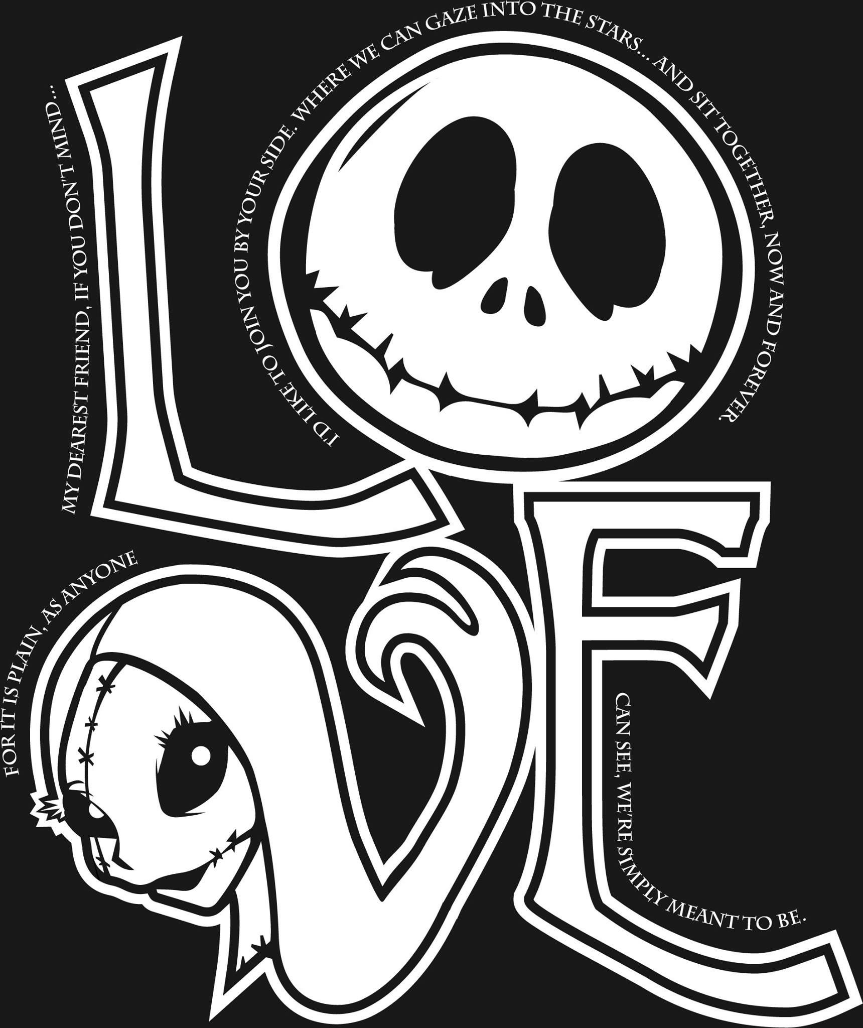 Pin by Emily Stout on font in 2020 Nightmare before