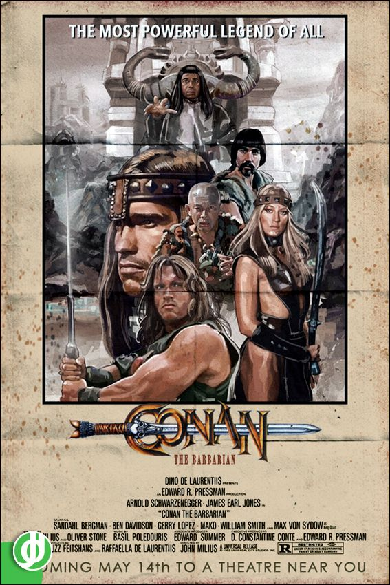 A World In Jidé O Vision Conan The Barbarian Conan Movie Comic Movies