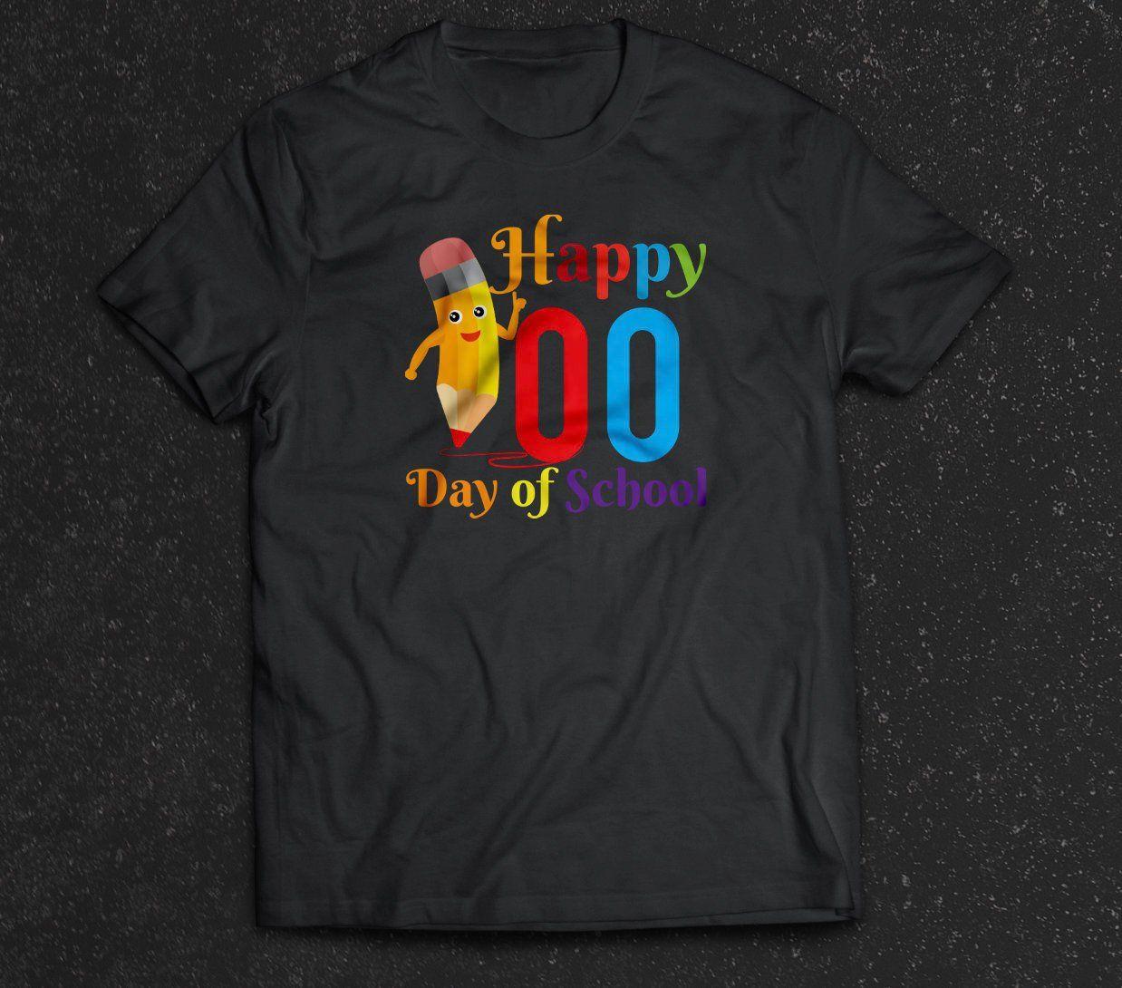 Happy 100th Day Of School Pencil