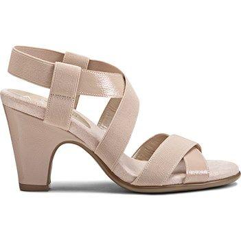 869818a44755 A2 by Aerosoles Women s Kaleidoscope Medium Wide Sandal at Famous Footwear
