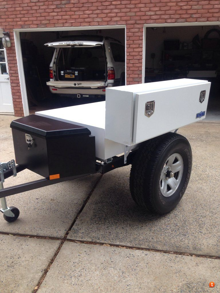 Weatherguard drawers harbor freight trailer build page for Harbor freight fishing cart