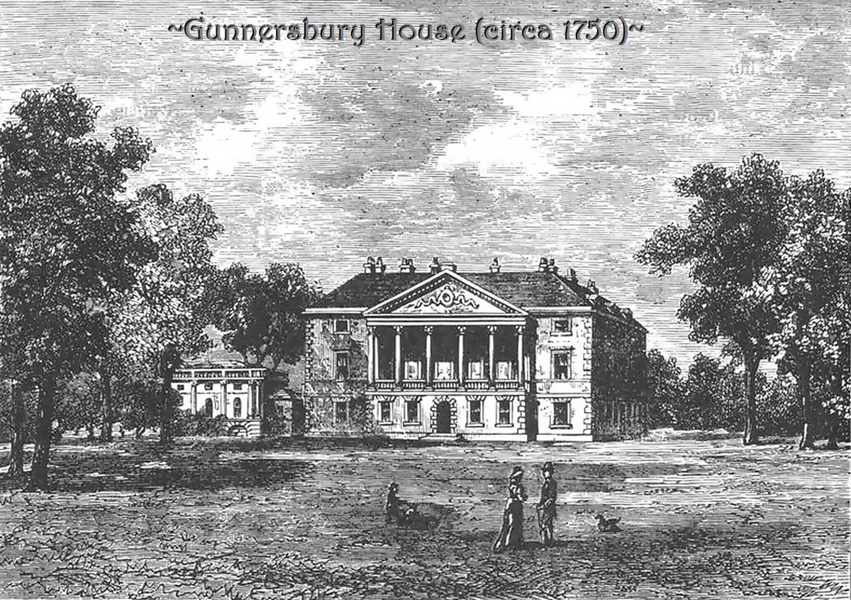 The original gunnersbury house gunnersbury park english country
