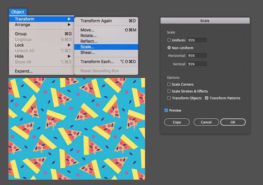 How To Make A Colorful Pizza Pattern In Adobe Illustrator Adobe