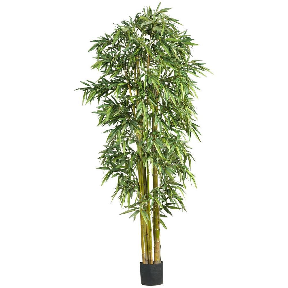 Nearly Natural 7 Ft Large Bamboo Silk Tree 5191 Bamboo Tree