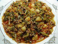 Photo of Purslane dish recipe with chickpeas