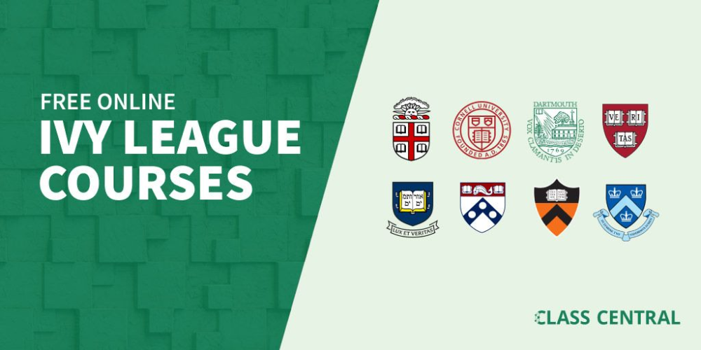Here are 450 Ivy League courses you can take online right
