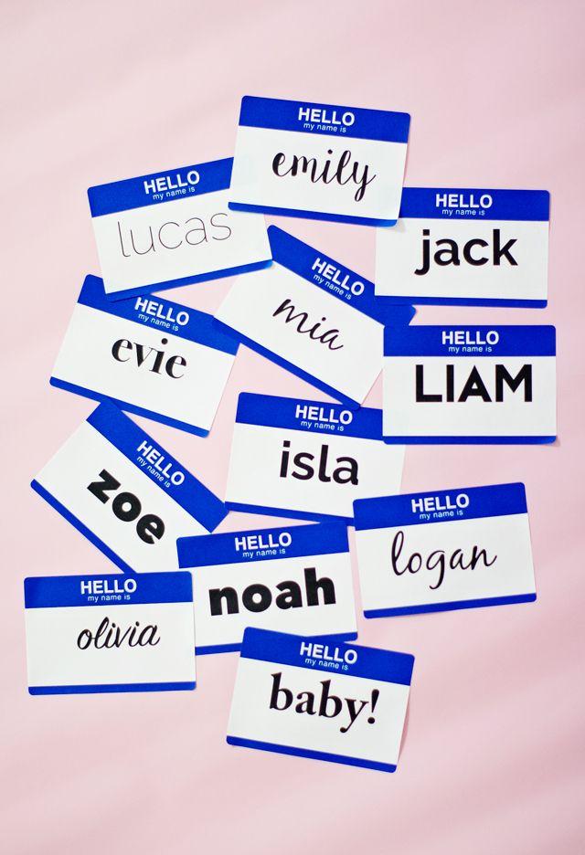 Modern 4 letter baby names