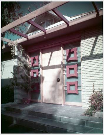 Cannell and chaffin interior design los angeles ca - Modern interior doors los angeles ...