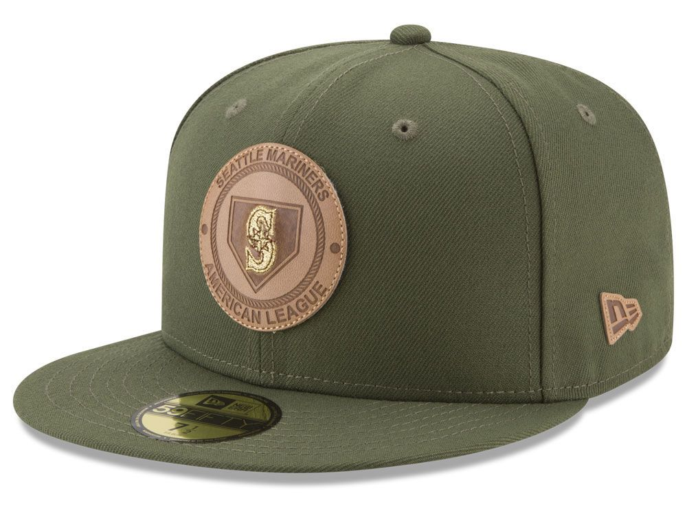 c93ee1e3544c9 Seattle Mariners New Era MLB Vintage Olive 59FIFTY Cap in 2018 ...