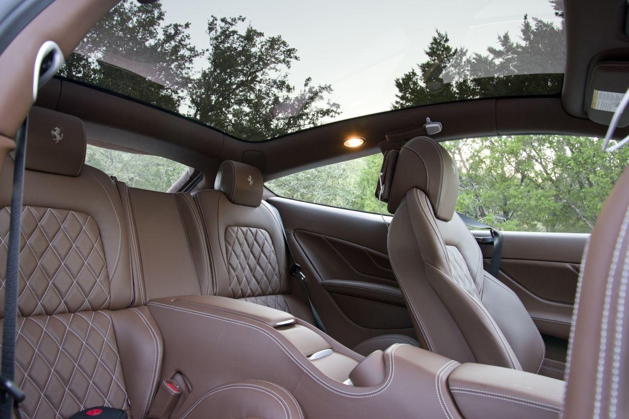 2014 Ferrari FF   Interior Rear