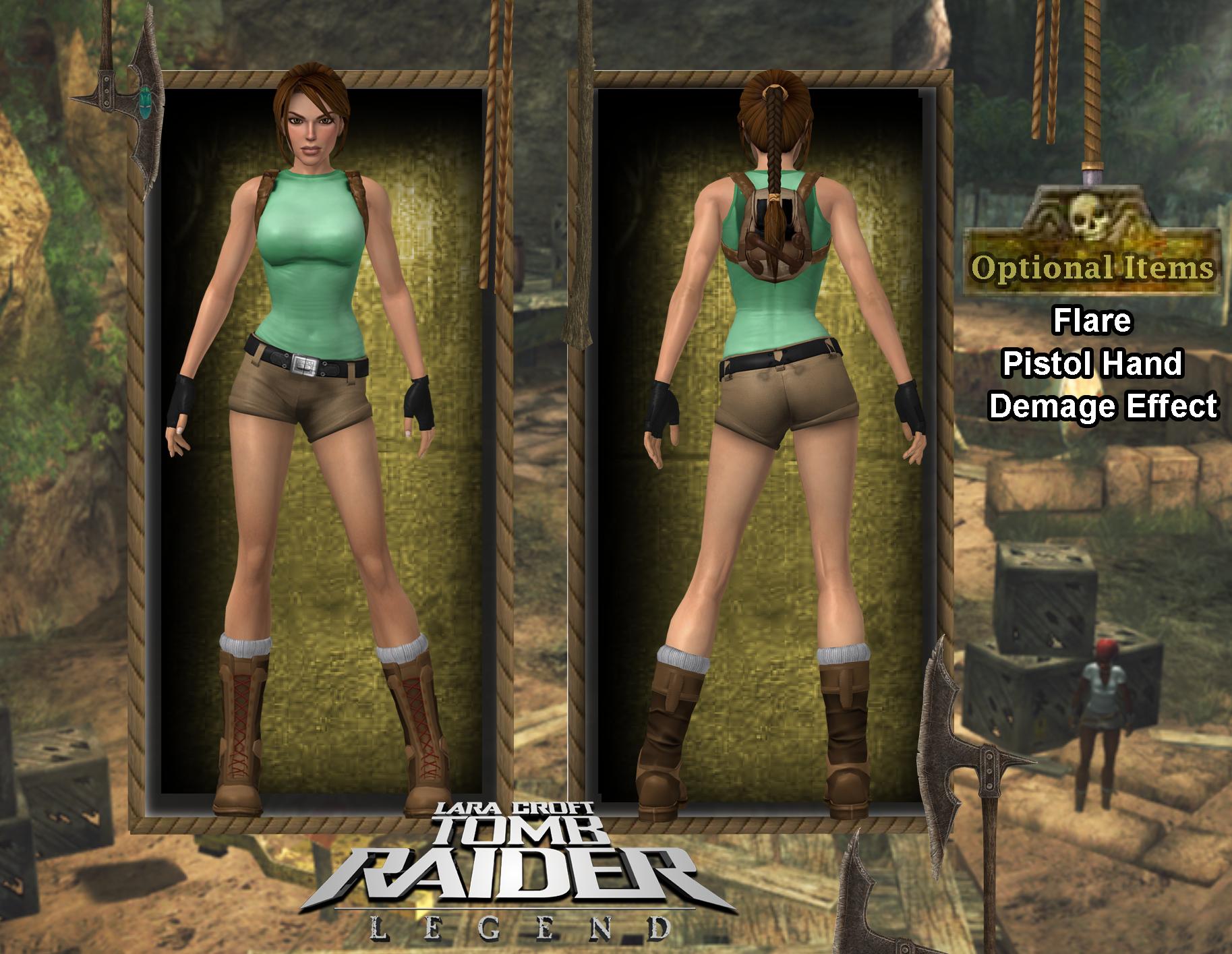 [Mod] Tomb Raider Legend Young Lara by isagiiirlyB