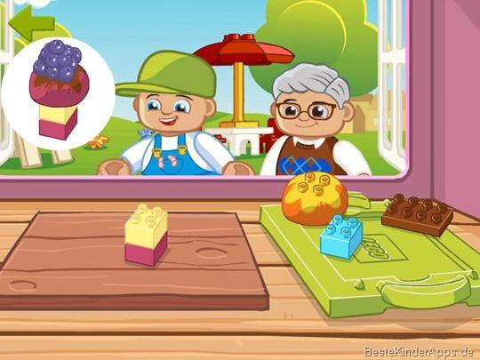 lego duplo food app kleinkinder 23 ipad iphone kinder. Black Bedroom Furniture Sets. Home Design Ideas