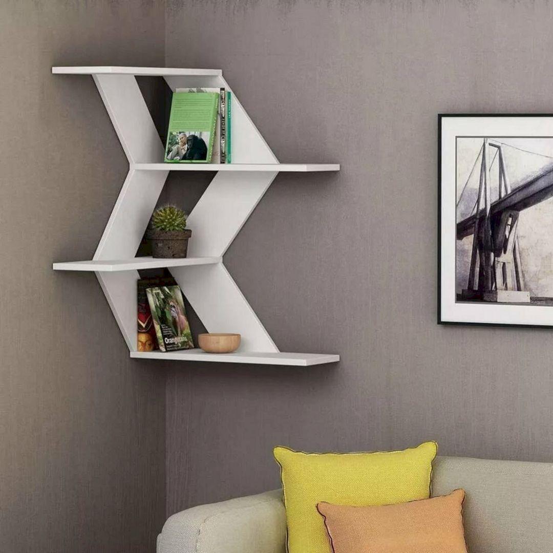 Creative Wall Shelves Design