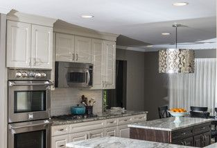 Contemporary Kitchen photo by Alison Besikof Custom Designs