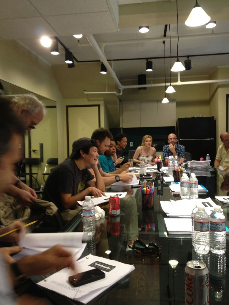 First table read!