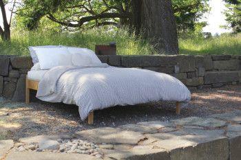 Soaring Heart Organic Cotton Latex Wool Futon From Gimme The Good Stuff