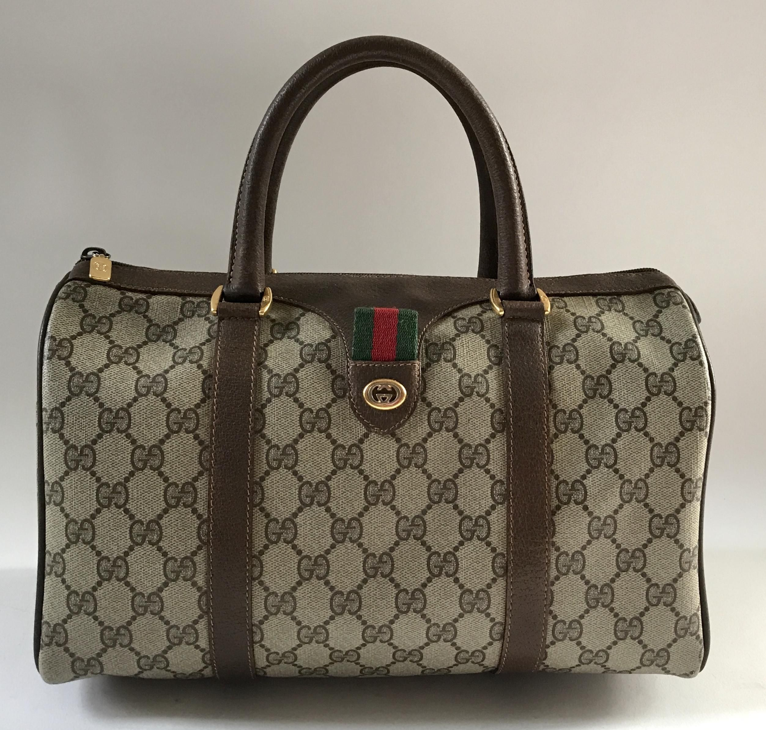 1ae61ec67d7 Gucci Vintage Brown Satchel. Save 80% on the Gucci Vintage Brown Satchel!  This satchel is a top 10 member favorite on Tradesy. See how much you can  save
