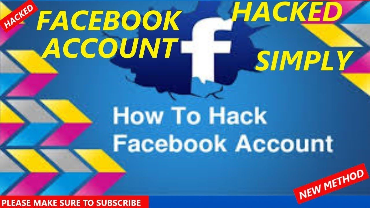 How to hack facebook account and get someones username