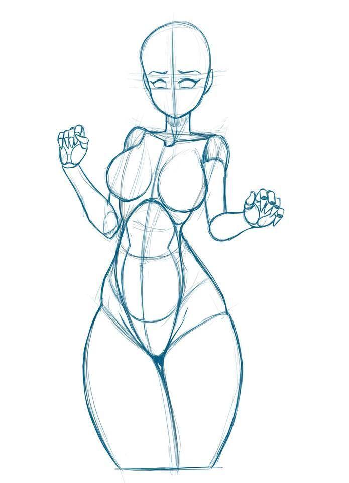 Female figure   referencia   Pinterest   Anatomía, Body y Dibujo