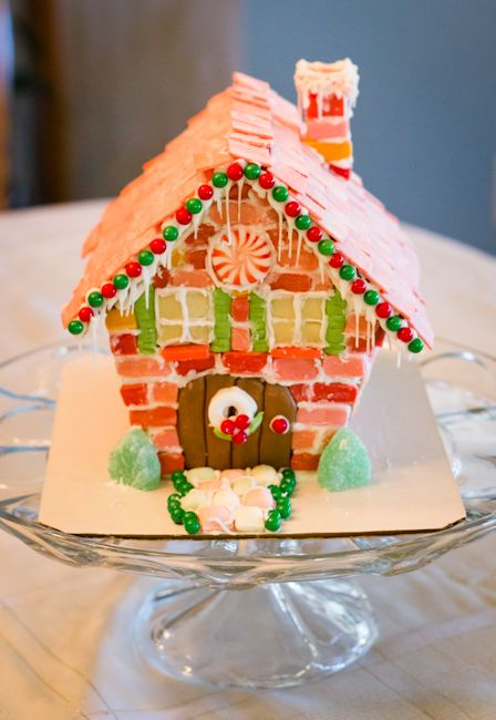 A Brick Gingerbread House My Insanity Gingerbread House Gingerbread Gingerbread House Parties
