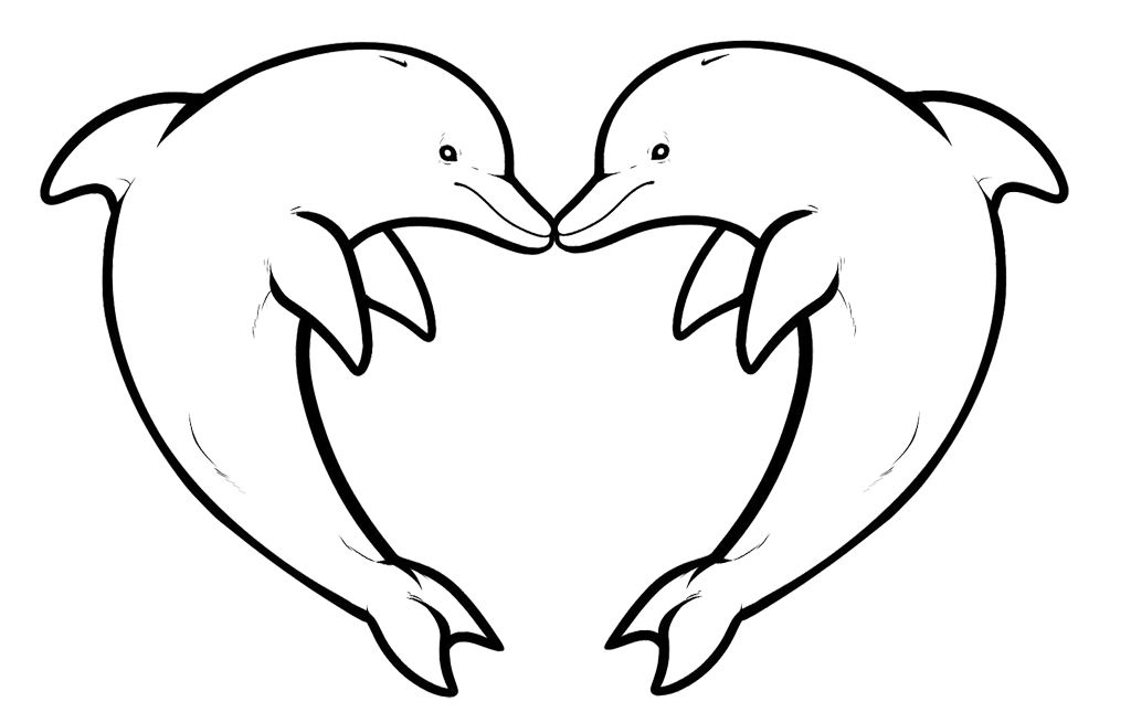 Two Dolphin Yang Always Together | Dolphins | Pinterest