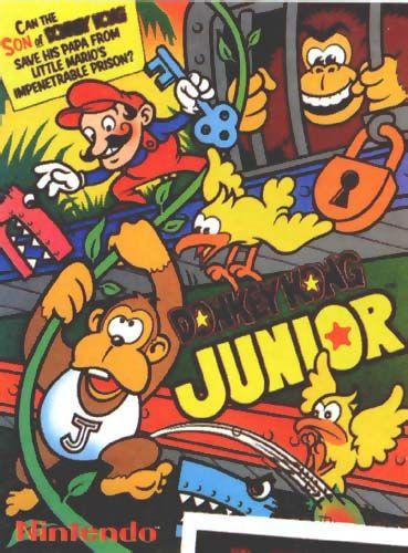 Donky Kong Jr Retro Games Poster Donkey Kong Junior Video Game Posters