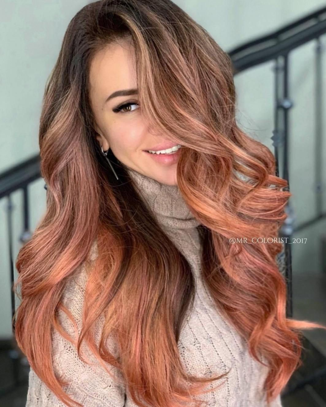 What is the best hair color for hazel eyes Rich brown