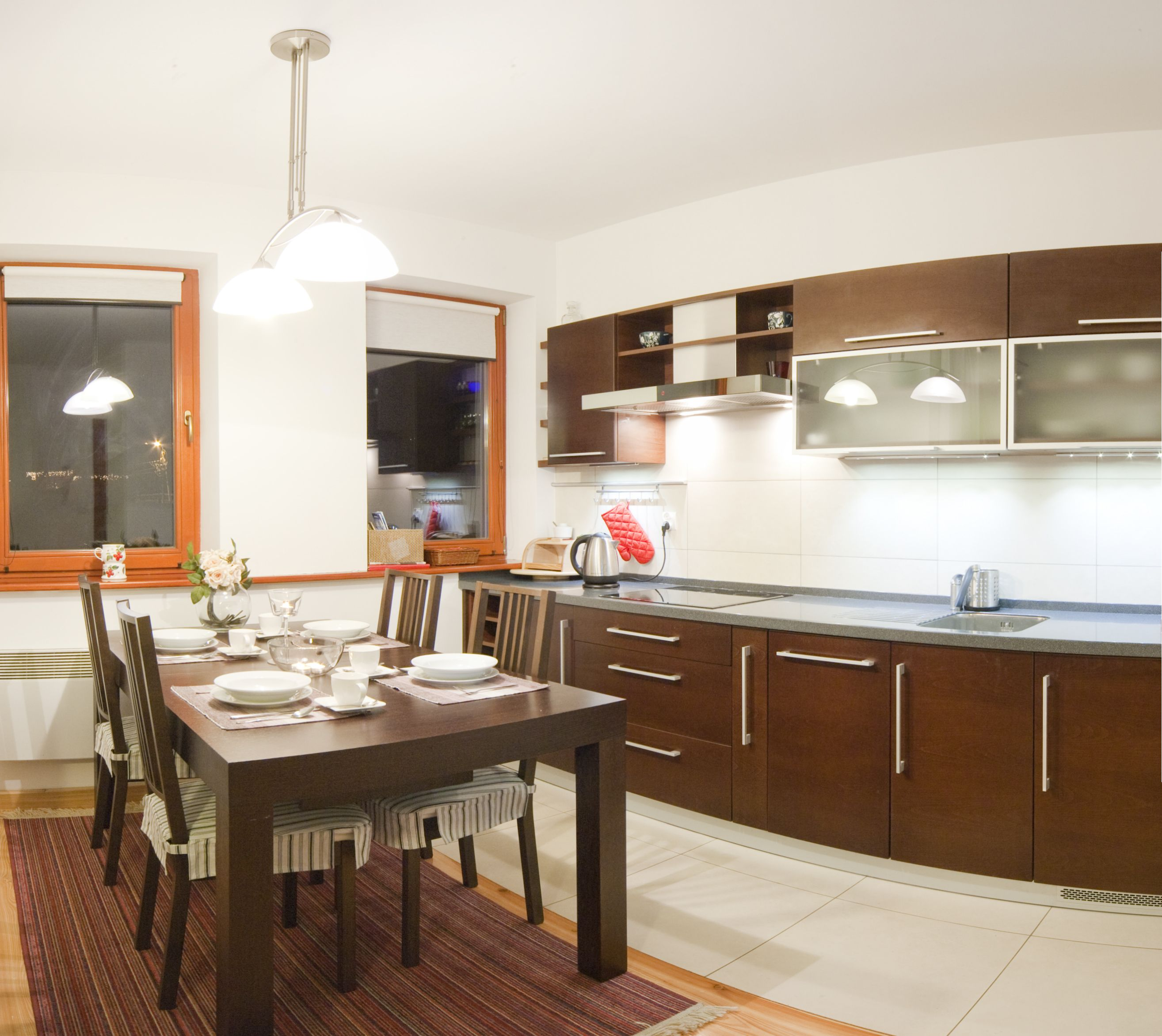 Kuchnia, w której przygotujesz pyszne posiłki Modern