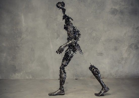 Deconstructed: Sculptures by Regardt van der Meulen   Inspiration Grid   Design Inspiration