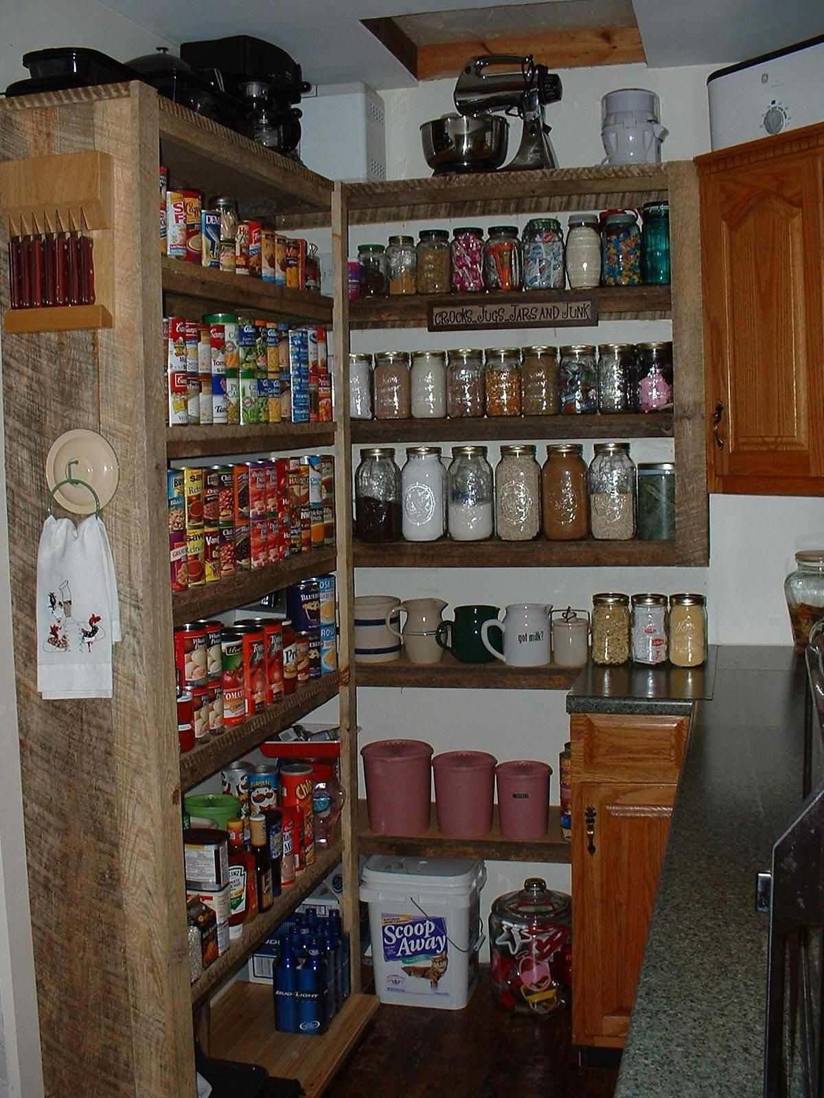Barn Board Kitchen Cabinets Utility Room Barn Board Shelves Someday Utility