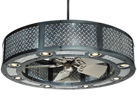 industrial look ceiling fans chandelier with fan by meyda lighting ceiling fans aug 13 10
