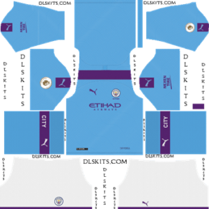 Manchester City 2019 2020 Dream League Soccer Kits Logo Manchester City Logo Soccer Kits Manchester City