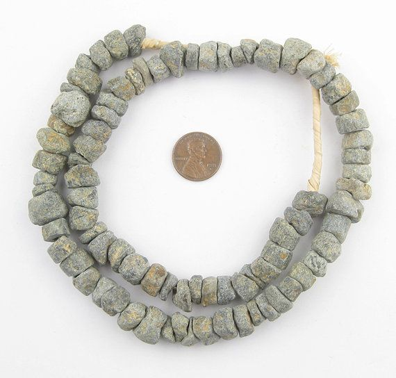 Quartz Stone Beads Mali Africa 124443