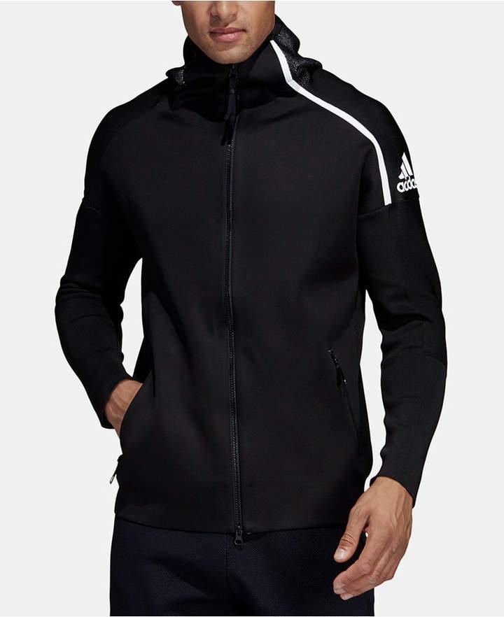 adidas Men Zne Hybrid Zip Hoodie | Adidas men, Zip hoodie
