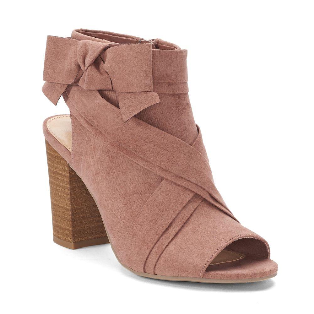 LC Lauren Conrad Muffin Womens Heel Sandals   High heel